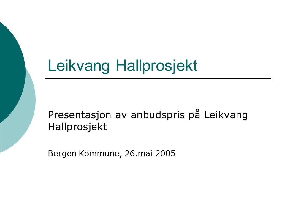 Leikvang Hallprosjekt