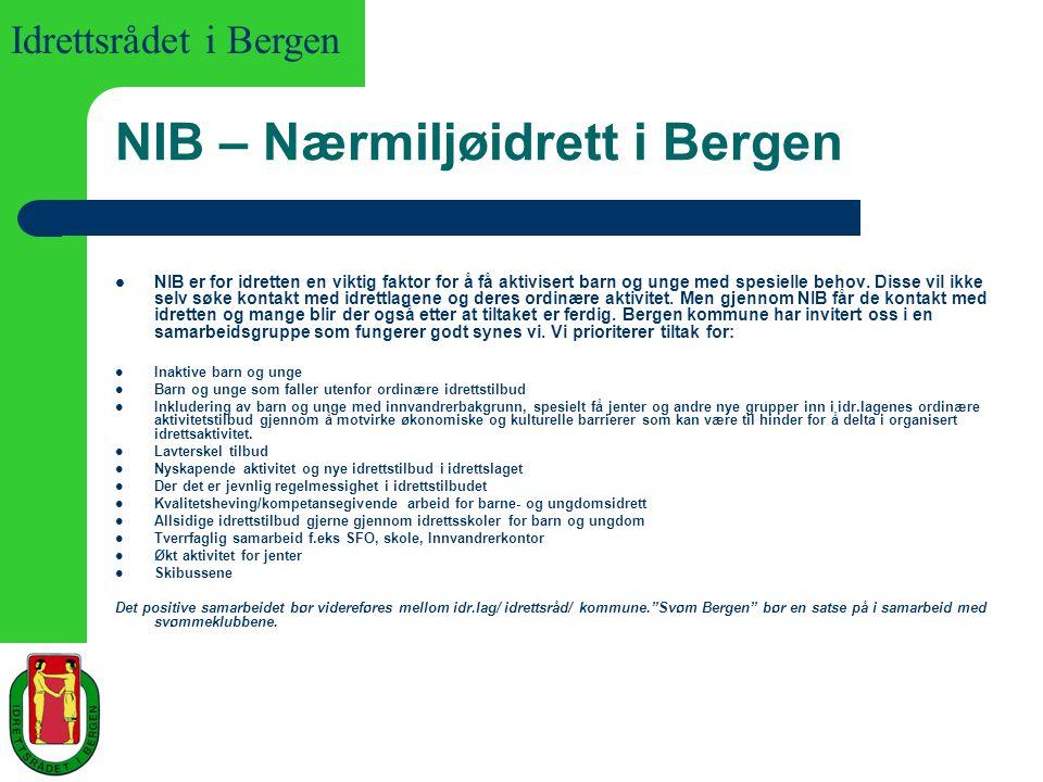 NIB – Nærmiljøidrett i Bergen