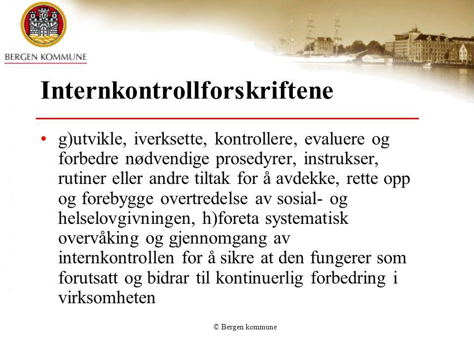 Internkontrollforskriftene