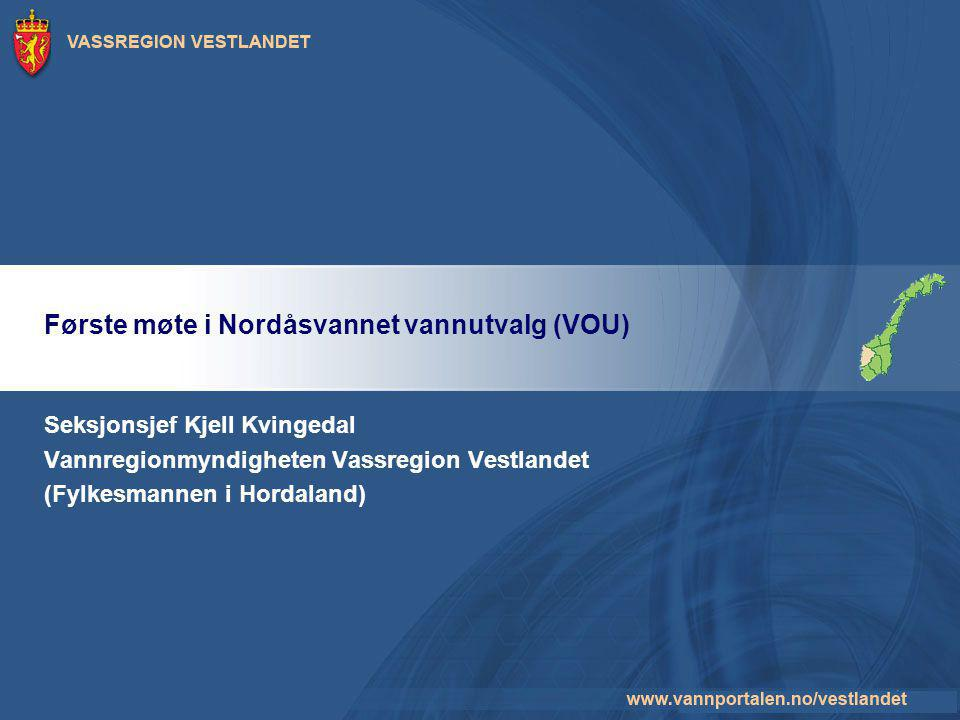 Første møte i Nordåsvannet vannutvalg (VOU)