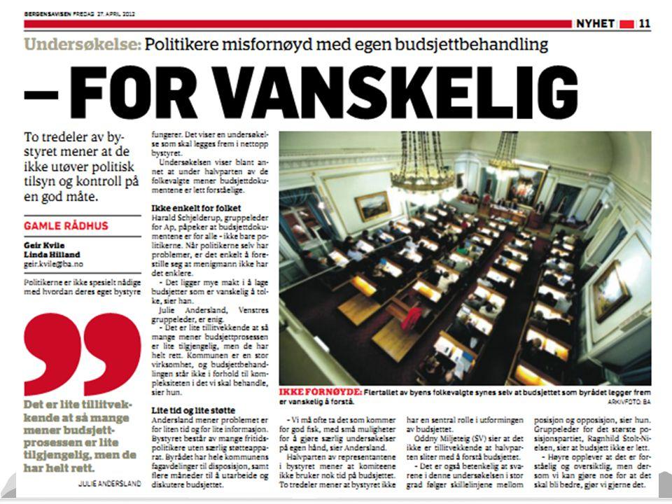Pedersen Kommunal Rapport: «Det er ikke Jens Stoltenberg, Ap, Stortinget, rådmannen eller ordføreren som eier kommunen. Det er innbyggerne selv. Hver enkelt.»