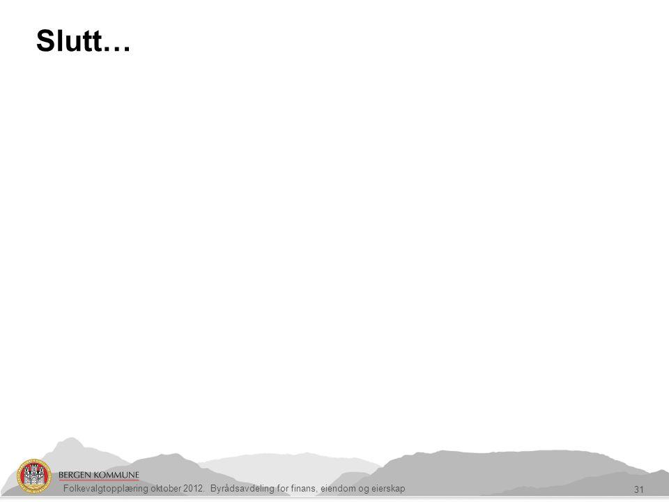 Slutt… ASSS-rapport 2012 på vei
