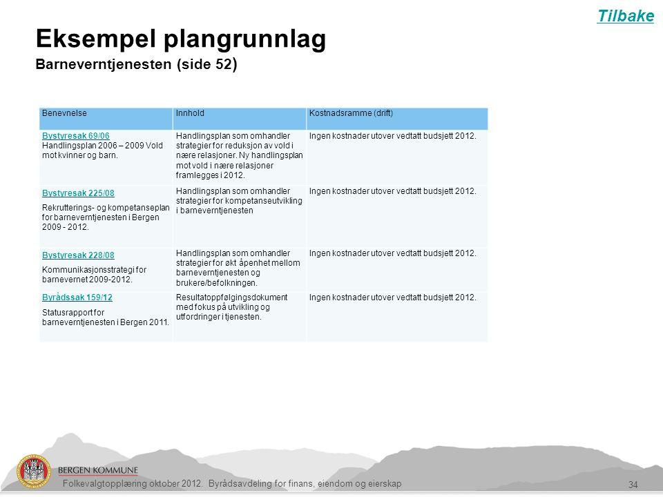 Eksempel plangrunnlag Barneverntjenesten (side 52)