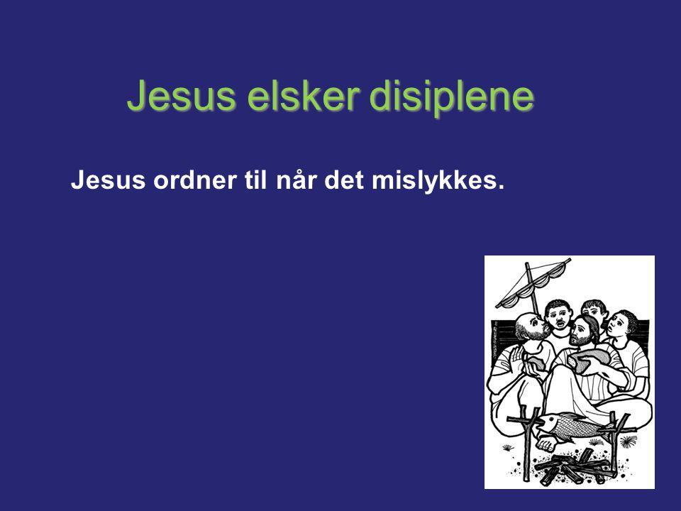 Jesus elsker disiplene