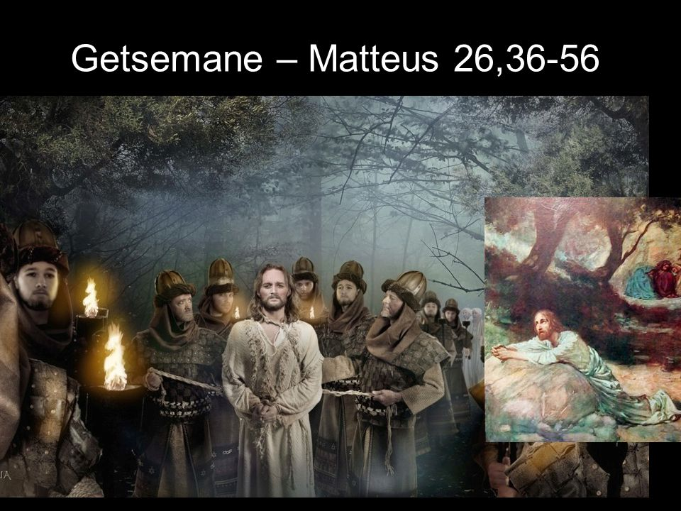 Getsemane – Matteus 26,36-56