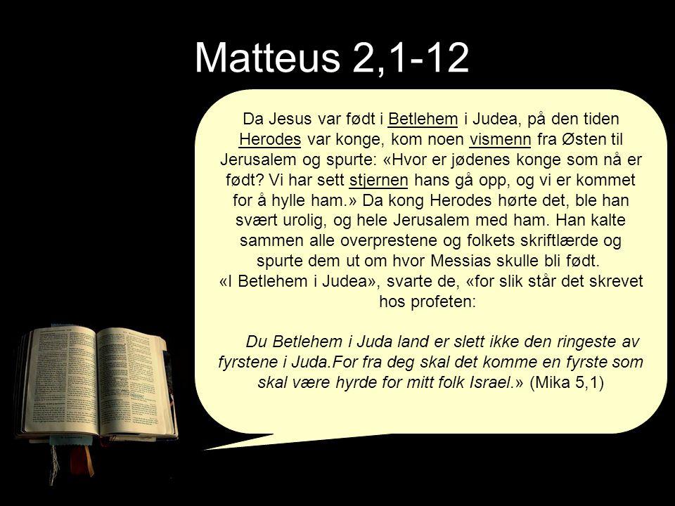 Matteus 2,1-12