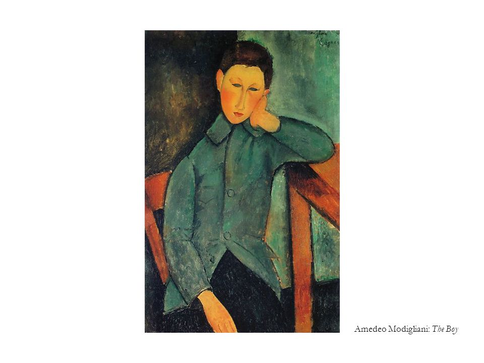 Amedeo Modigliani: The Boy