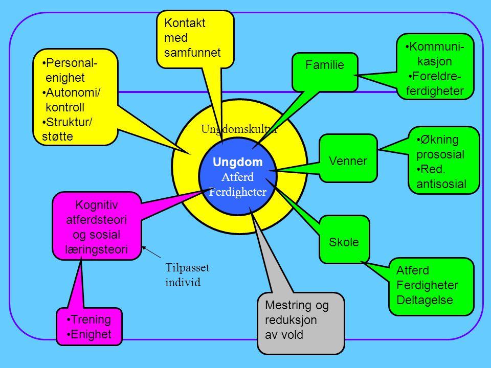 Foreldre-ferdigheter Personal- enighet Autonomi/ kontroll