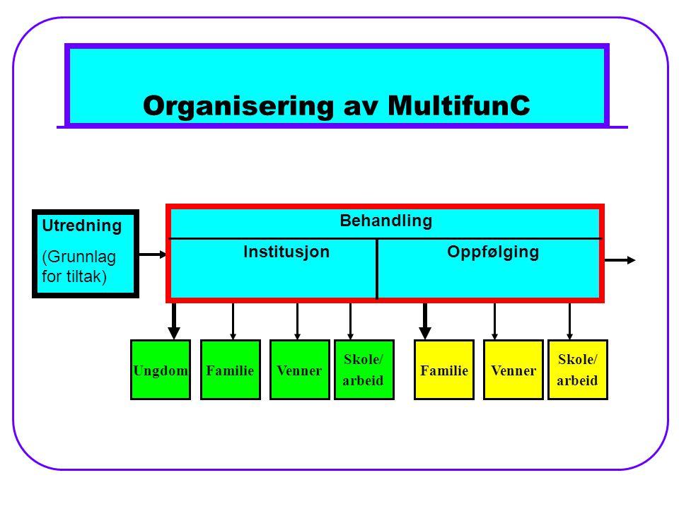 Organisering av MultifunC