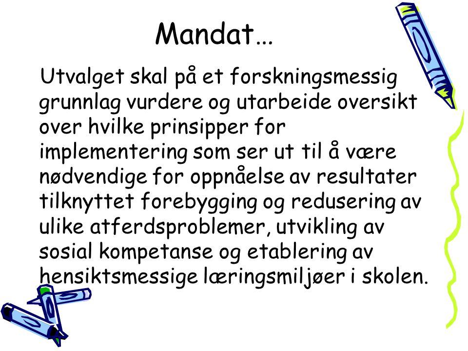 Mandat…