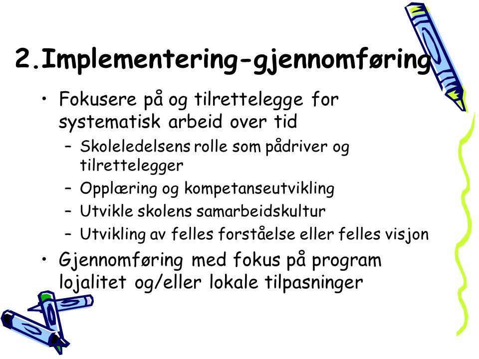 2.Implementering-gjennomføring