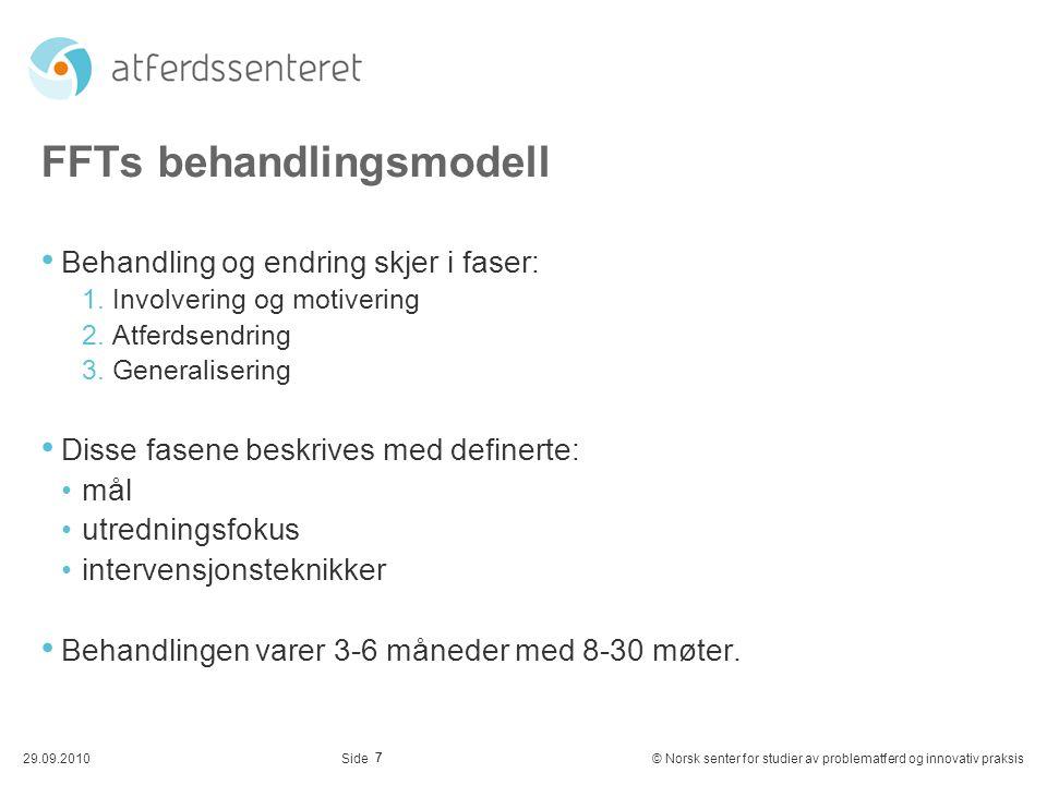 FFTs behandlingsmodell