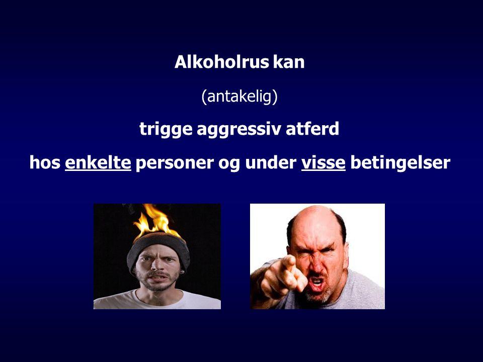trigge aggressiv atferd