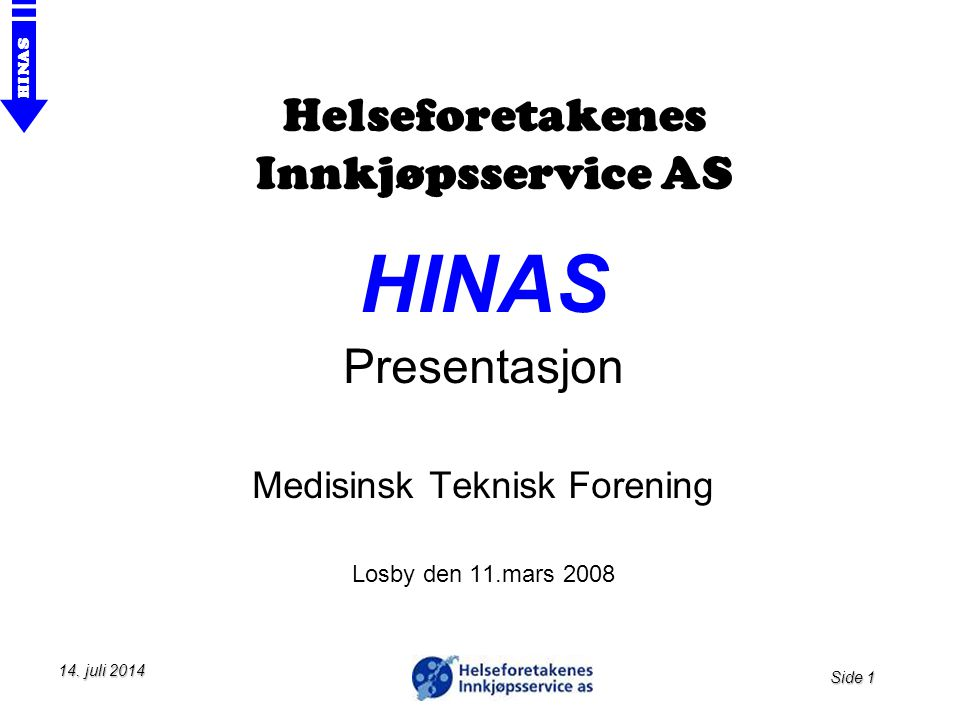 Helseforetakenes Innkjøpsservice AS