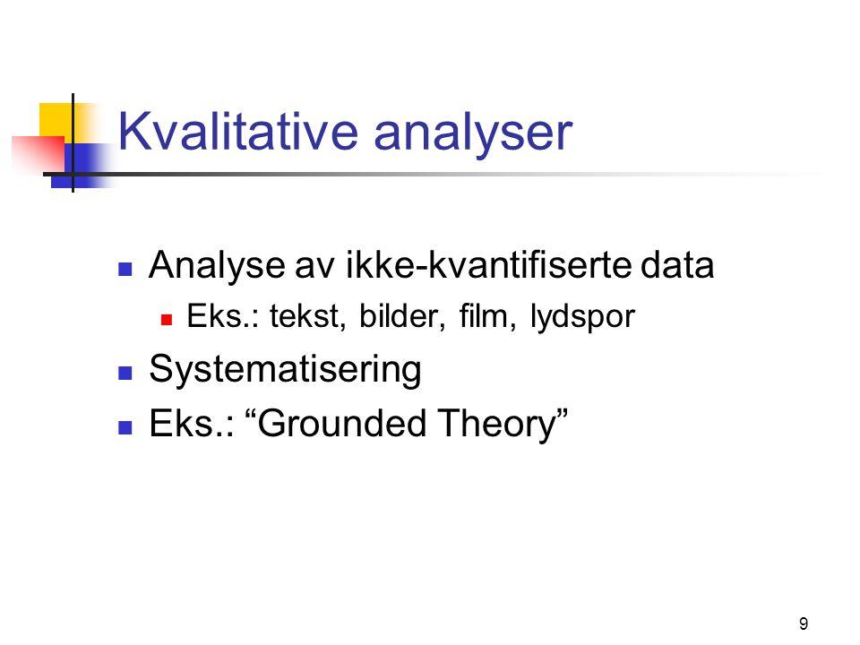 Statistikk Deskriptiv Inferensiell Beskrive datasettet