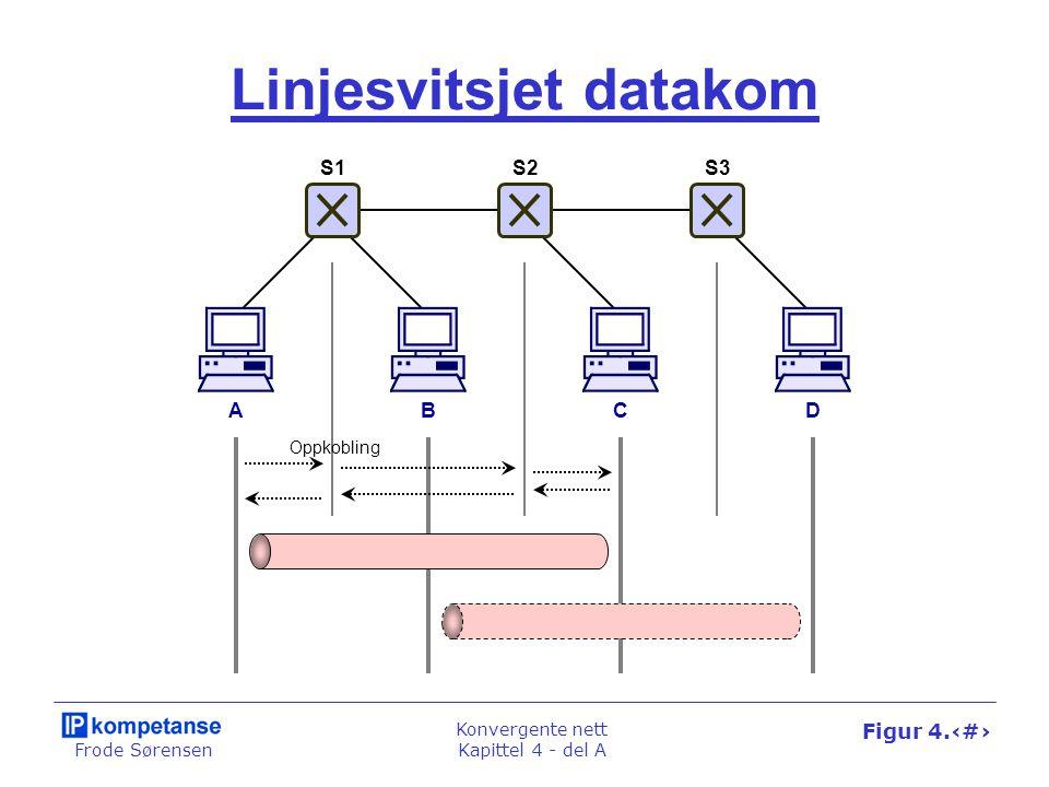Linjesvitsjet datakom