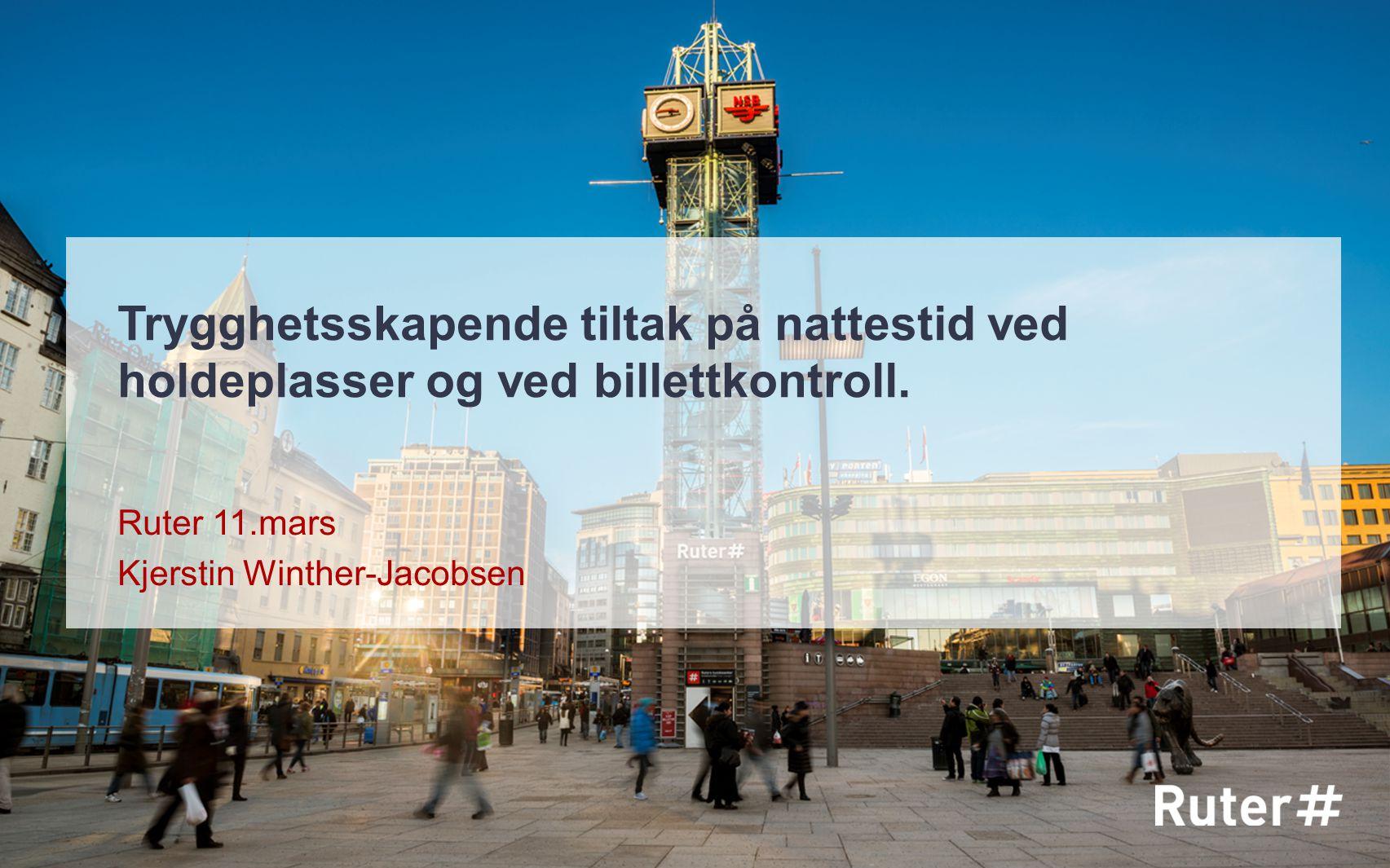 Ruter 11.mars Kjerstin Winther-Jacobsen