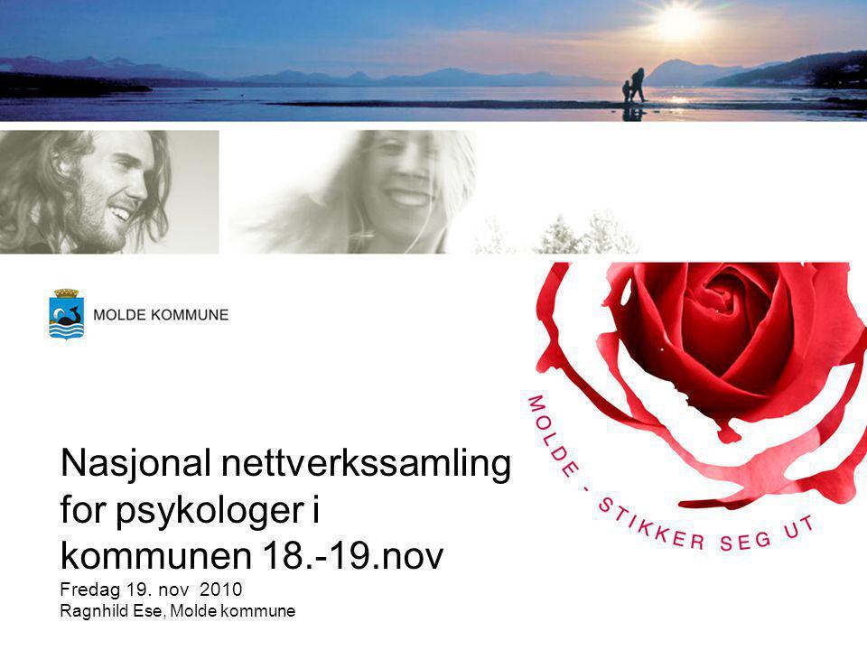 Nasjonal nettverkssamling for psykologer i kommunen 18.-19.nov