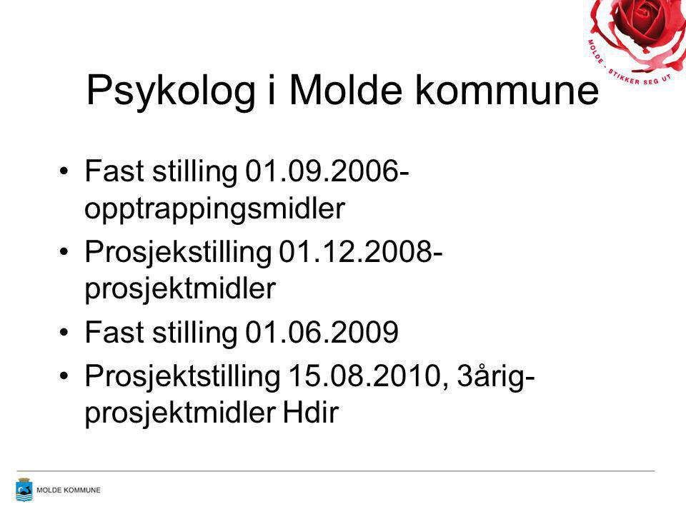 Psykolog i Molde kommune