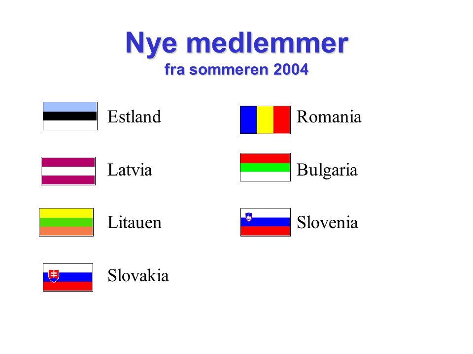 Nye medlemmer fra sommeren 2004