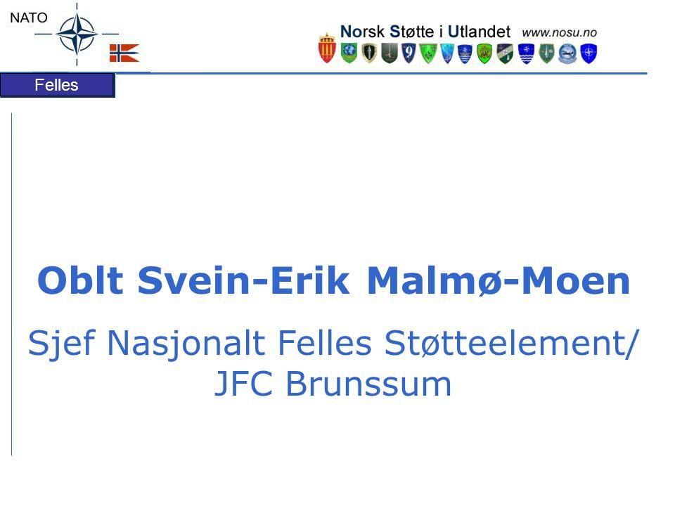 Oblt Svein-Erik Malmø-Moen