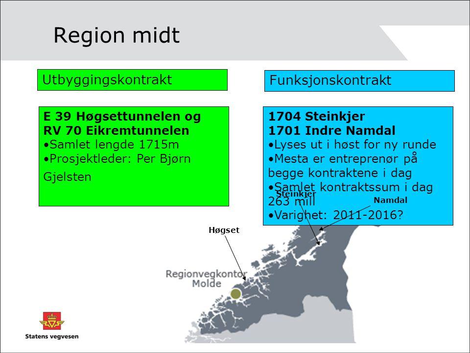 Region midt Utbyggingskontrakt Funksjonskontrakt
