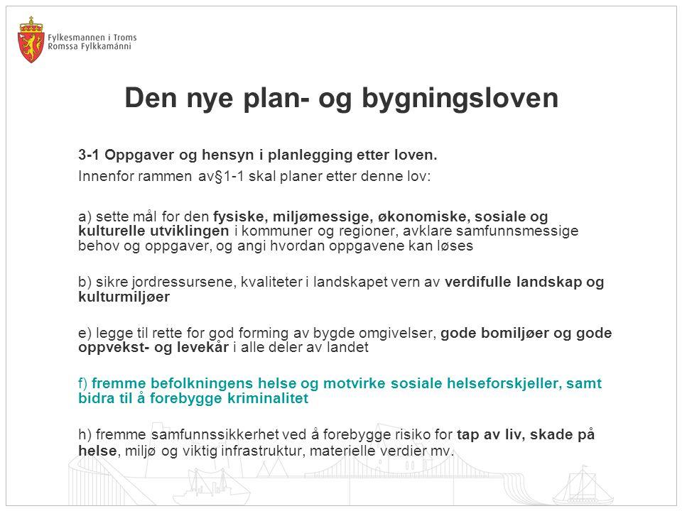Den nye plan- og bygningsloven