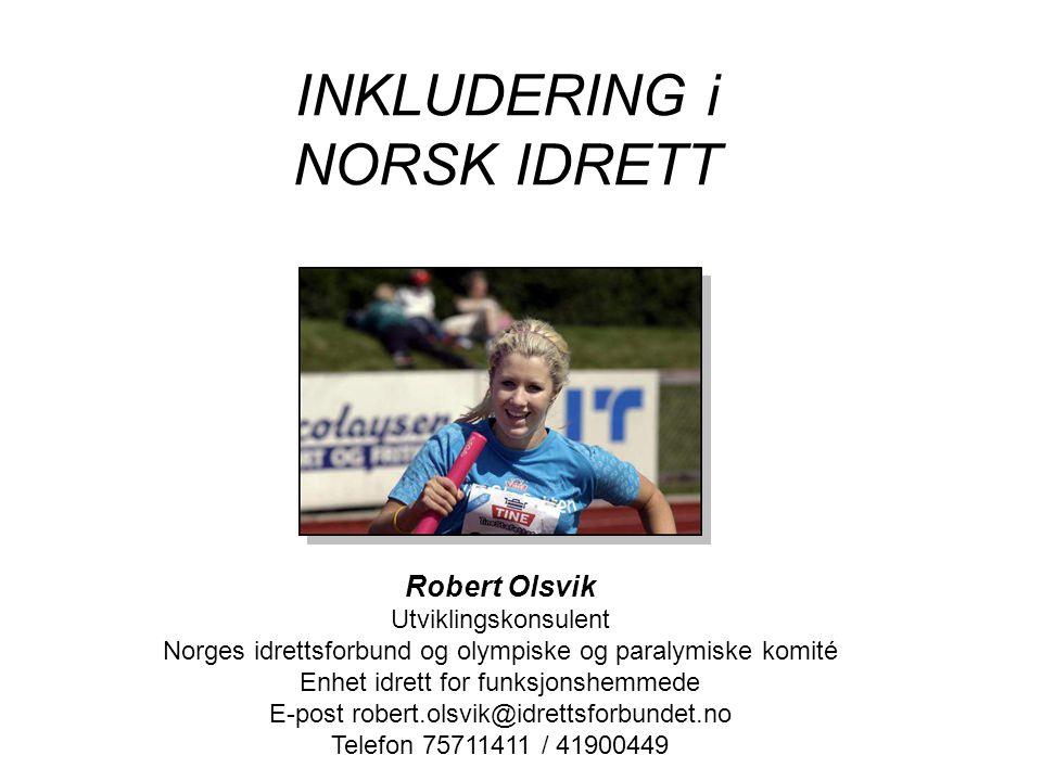 INKLUDERING i NORSK IDRETT