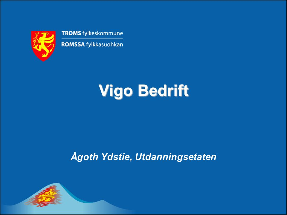 Ågoth Ydstie, Utdanningsetaten