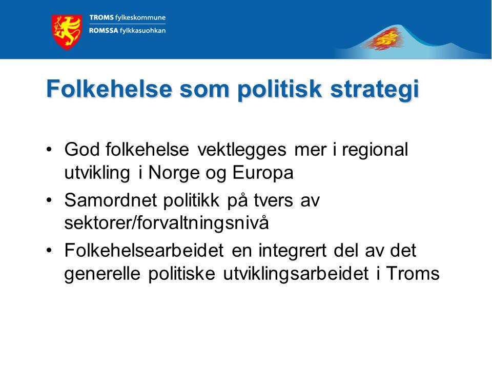 Folkehelse som politisk strategi