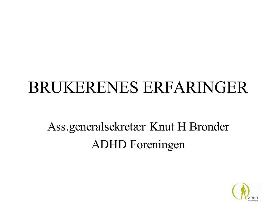 BRUKERENES ERFARINGER