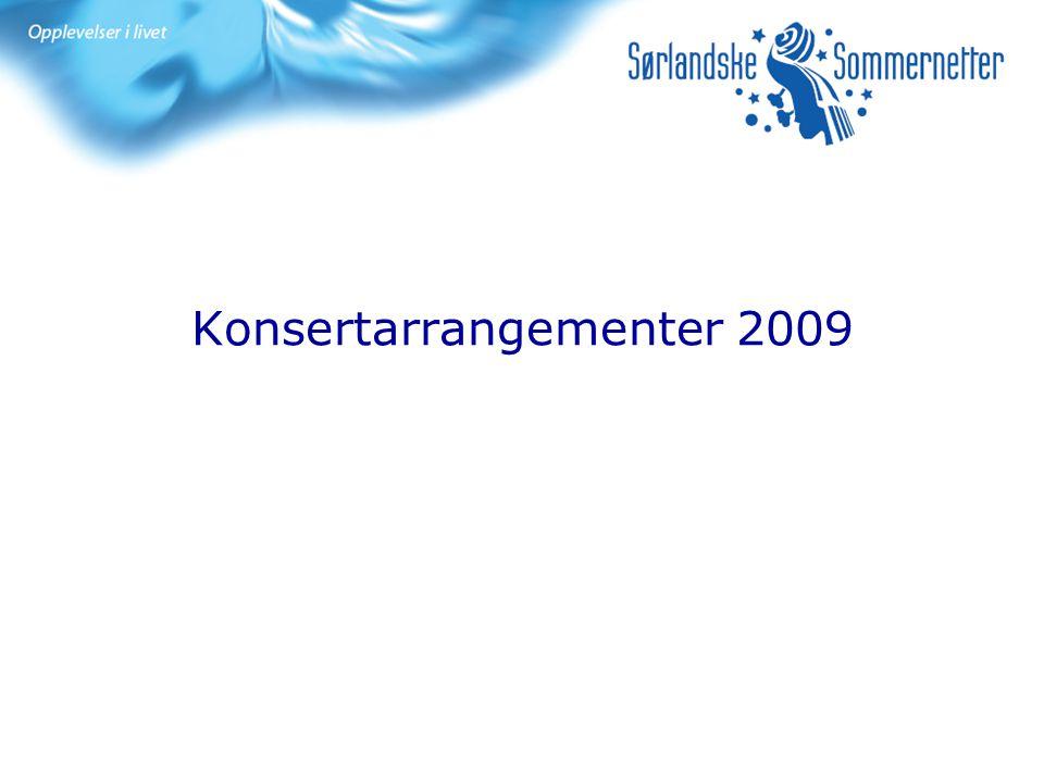 Konsertarrangementer 2009