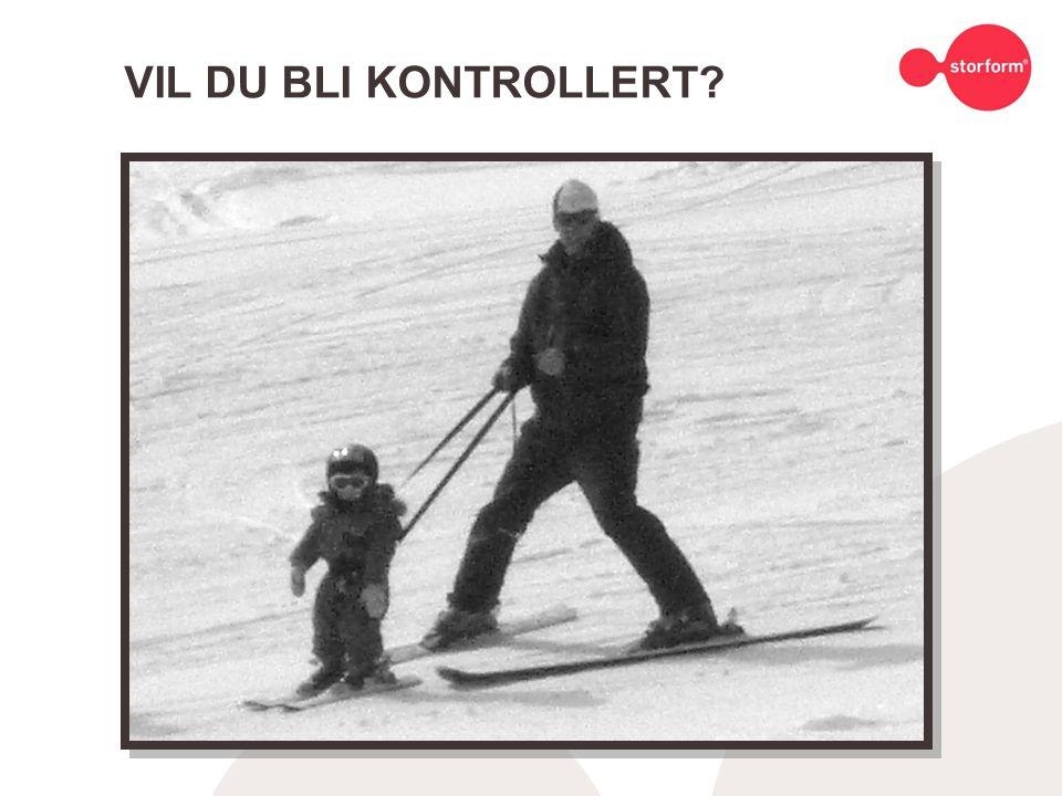 VIL DU BLI KONTROLLERT
