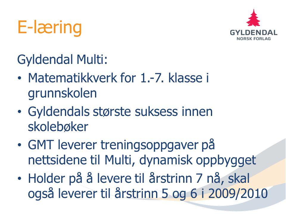 E-læring Gyldendal Multi:
