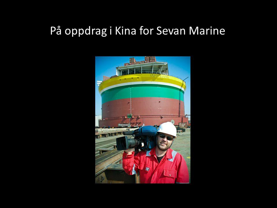 På oppdrag i Kina for Sevan Marine