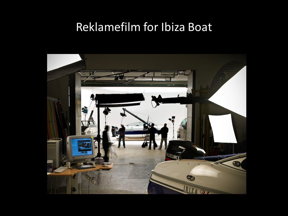 Reklamefilm for Ibiza Boat