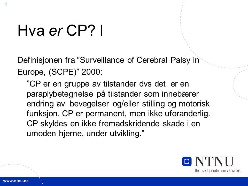 Hva er CP l