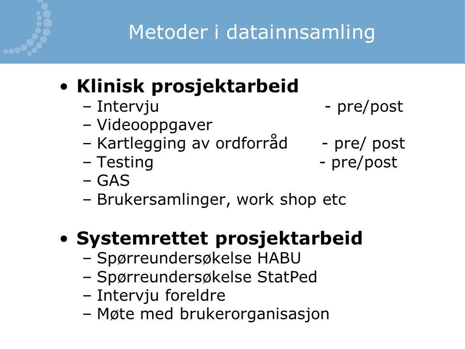 Metoder i datainnsamling