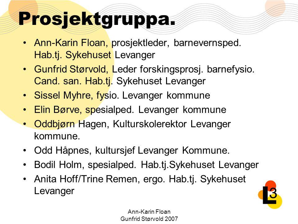 Ann-Karin Floan Gunfrid Størvold 2007