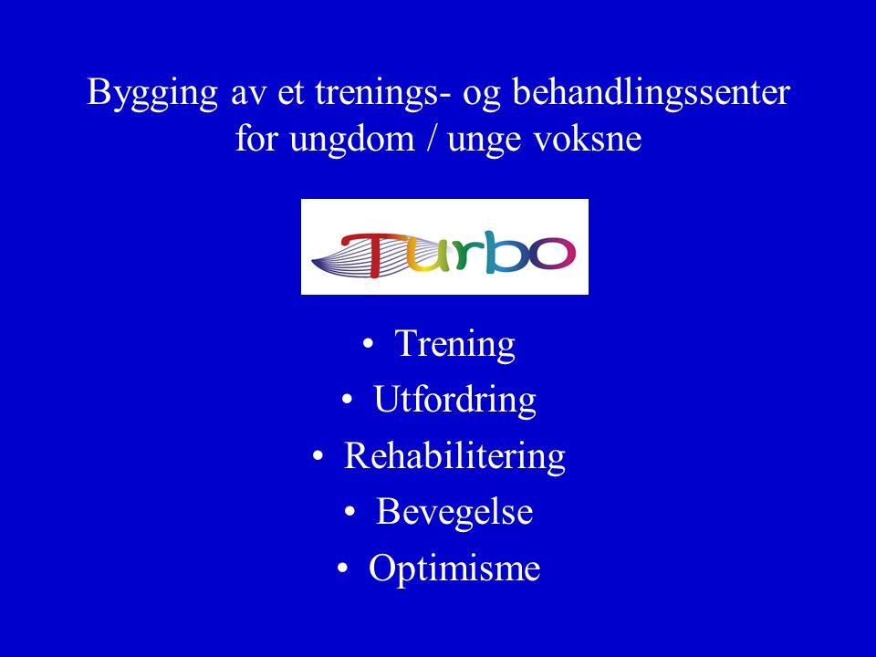 Bygging av et trenings- og behandlingssenter for ungdom / unge voksne