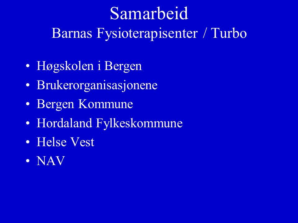 Samarbeid Barnas Fysioterapisenter / Turbo