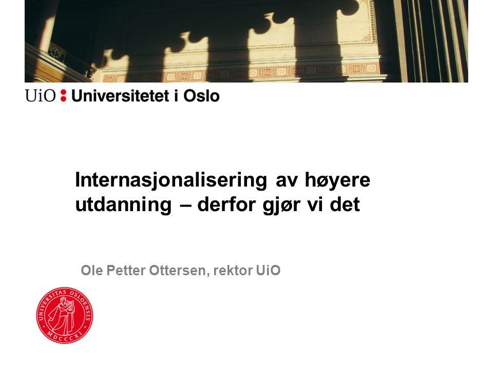 Ole Petter Ottersen, rektor UiO
