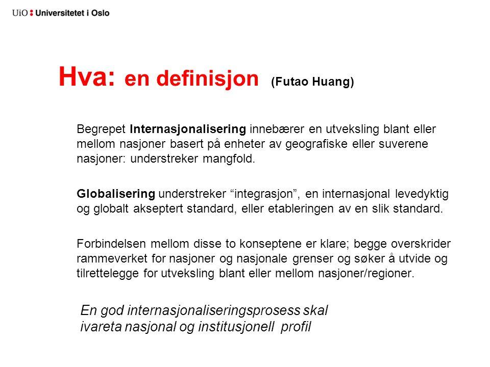 Hva: en definisjon (Futao Huang)