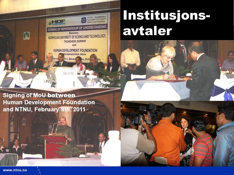 Institusjons- avtaler