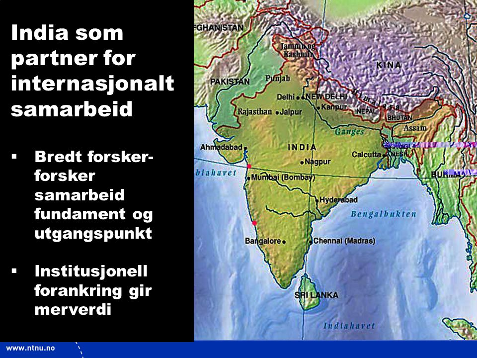 India som partner for internasjonalt samarbeid