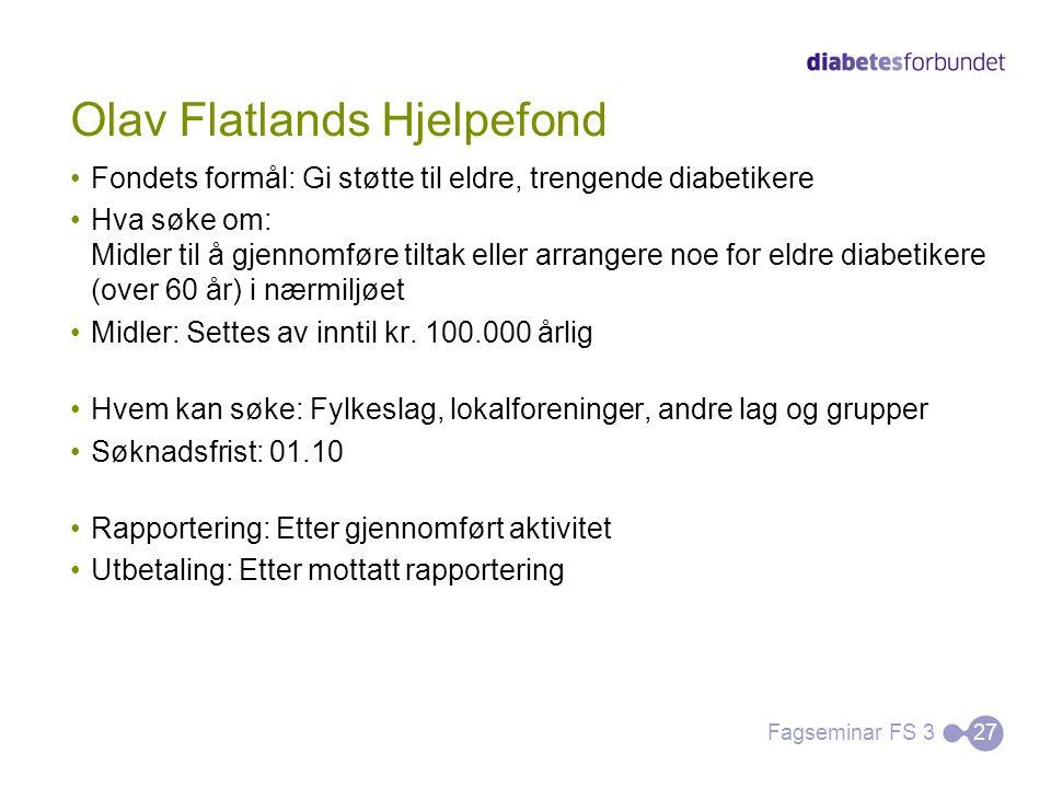 Olav Flatlands Hjelpefond