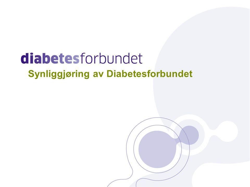 Synliggjøring av Diabetesforbundet