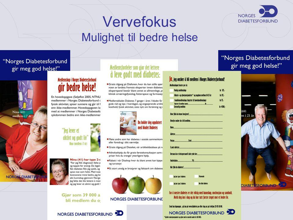 Vervefokus Mulighet til bedre helse