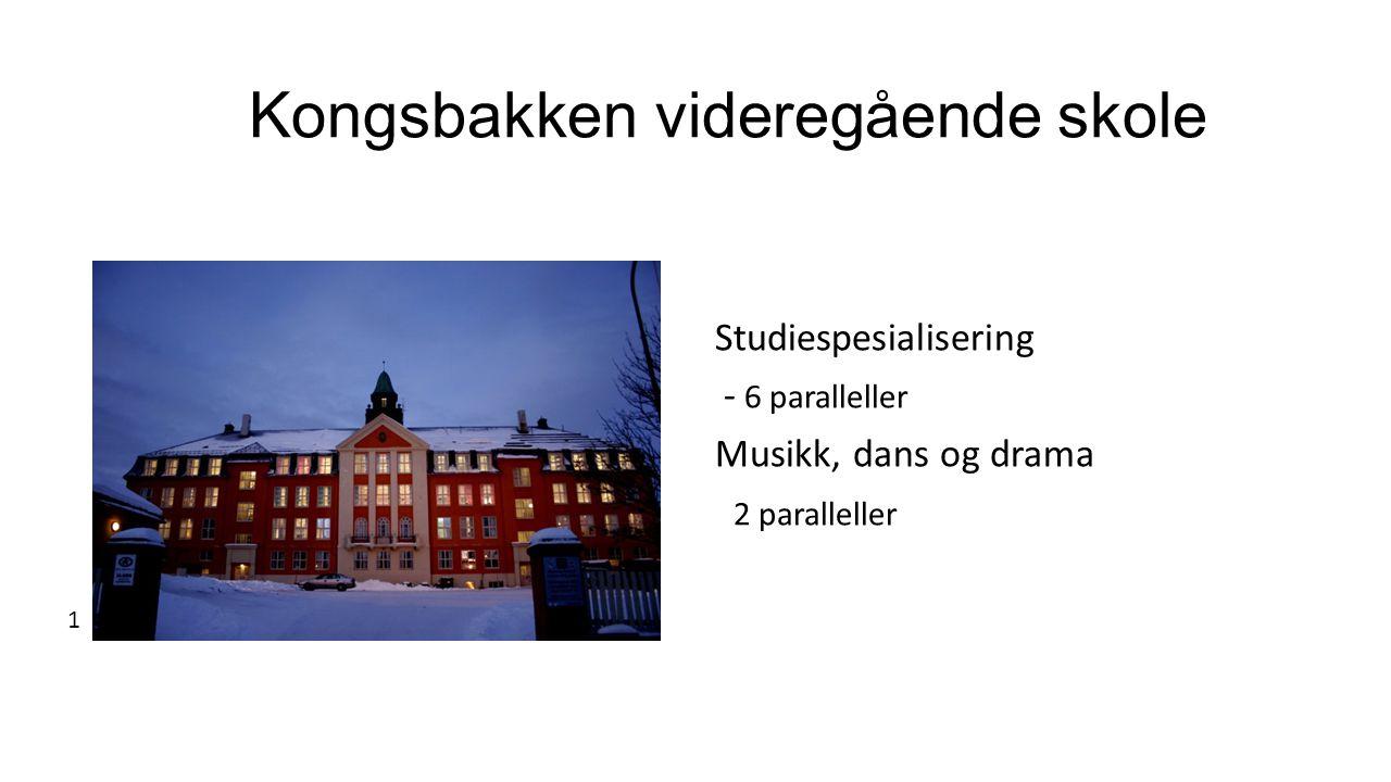 Kongsbakken videregående skole