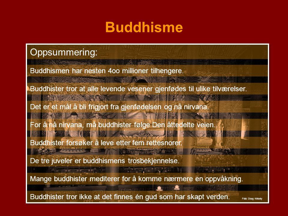 Buddhisme Oppsummering: